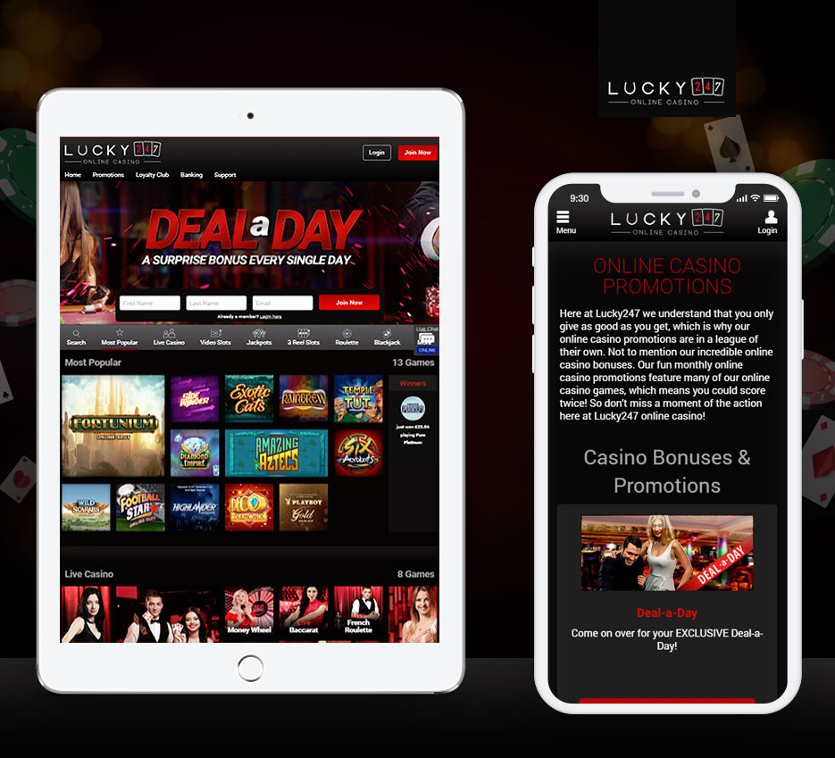 Lucky247 Casino Download